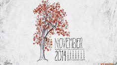 Desktop Wallpaper Calendars: November 2014  wallpaper| Smashing Magazine