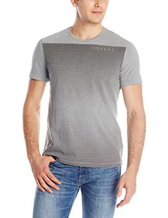 Calvin Klein Jeans Men's Mesh Gradient Crew Neck Tee. It is a Calvin Klein jeans crewneck tee shirt Product Features  This shirt has a fashion graphic print This tee shirt is called mesh gradient   http://geek-tshirts.com/calvin-klein-jeans-mens-mesh-gradient-crew-neck-tee/