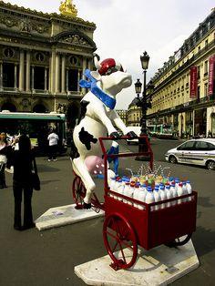 Cow, Place Opera, Paris