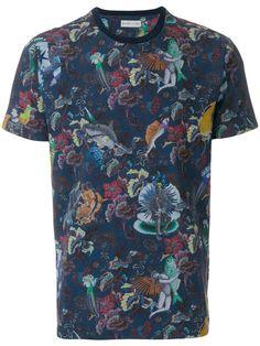 Compre Etro Camiseta com estampa floral .