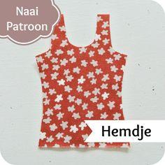 NaaiPatroon - Naai je eigen Hemdjes op je eigen maat