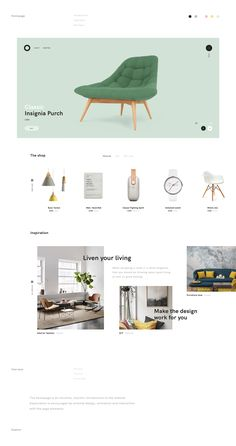 The project started as a desire to create intrigue around aesthetically pleasing products. This was brought to life through designed interactions and animations — creating a better site experience. Design Jobs, Ux Design, Layout Design, Design Trends, Interior Design, Minimal Web Design, Ecommerce Web Design, Homepage Design, Newsletter Design