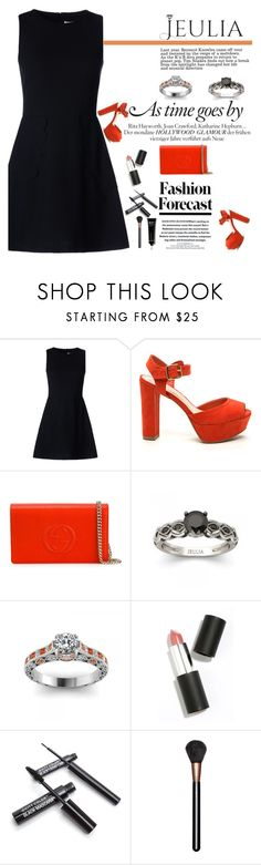 """""""A lady knows how to play a game.."""" by mell-2405 ❤ liked on Polyvore featuring RED Valentino, Gucci, Sigma Beauty, MAC Cosmetics, Bobbi Brown Cosmetics, women's clothing, women, female, woman and misses"""