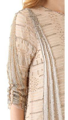parker beaded dress