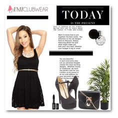 """""""Amiclubwear 10"""" by mary-turic ❤ liked on Polyvore featuring Levi's, Nearly Natural and NYX"""