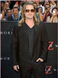 Brad Pitt - World War Z premier