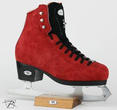 Check out these Junior Black and Red for son Dillon! Roller Skating, Ice Skating, Figure Skating Outfits, Custom Boots, Pink Aesthetic, Skate Shoes, Yuri, High Top Sneakers, Sportswear