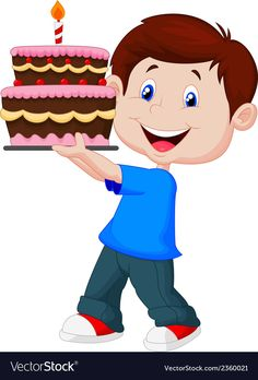 Ideas Cake Birthday Ilustration Free Printable For 2019 Cartoon Pics, Cute Cartoon, Cartoon Characters, Cartoon Boy, Baby Girl Bows, Girls Bows, Sweet 16 For Boys, Cartoon Birthday Cake, Sunday School Decorations