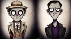 Doctor Who Doctors In The Style of Tim Burton