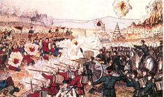 Chinese History - This an artist's depiction of what may have happened during the Boxer Rebellion, a violent movement that threatened the Qing Dynasty.