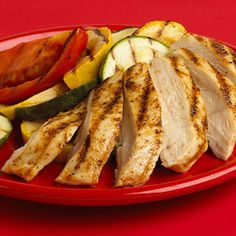 After: Grilled Chicken and Mixed Vegetables - Fitnessmagazine.com