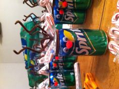 """Christmas teacher appreciation idea...tag on it will say: """" May your Christmas (or Holiday) be Merry and """"Sprite!"""""""