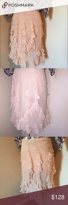 Oscar De La Renta Skirt Beautiful Silk skirt. Oscar de la Renta Skirts Midi