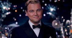 Leonardo Dicaprio as Jay Gatsby. #swoon