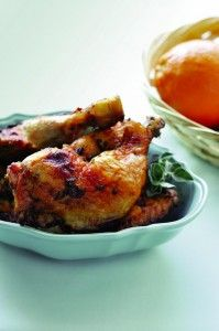 Super Citrus Chicken   Free of: All top allergens and gluten  Packed with: Vitamin C, nutrients, fibre
