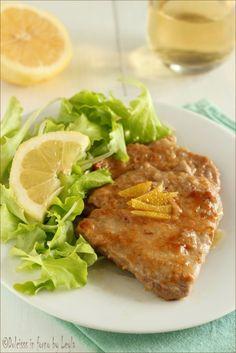 Scaloppine al limone, per una cena diversa Dulcisss in forno by Leyla