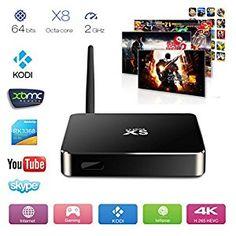 Amazon.com: Xsbox RK3368 - Android 5.1 Lollipop Smart TV Box, Octa Core&64bits RK3368 Cortex-A53 - Kodi 15.2 with 8GB Nand Flash UHD 4Kx2K: Electronics