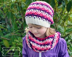 Prism Slouch & Cowl - lovely design