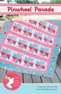 Pinwheel Parade Quilt PatternIt's Sew Emma