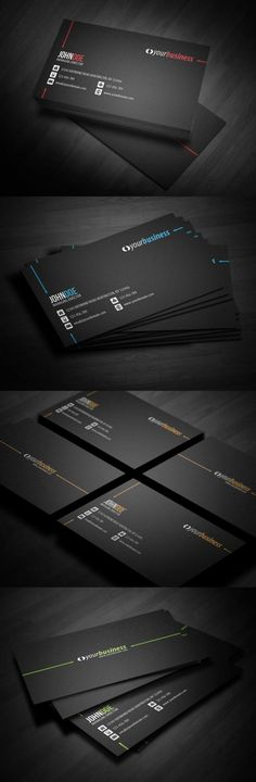 best corporate business card design