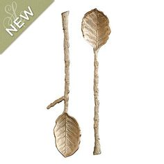 Southern Living Magnolia Branch 2 Piece Serving Set, available at ballarddesigns.com