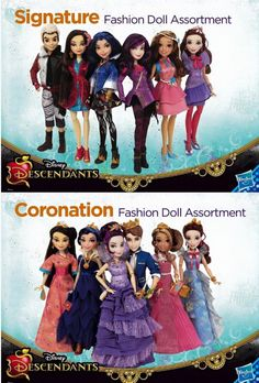 Walt Disney's Descendants Dolls! | by Saturday Morning ToyZ