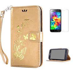 Yrisen 2in 1 Samsung Galaxy S5 Mini Tasche Hülle Wallet C…