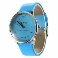 YKS Hot Unique Mathematics Dial Ladies Fashion Wrist Watch 10 Colors (Sky Blue) by YKS. $5.55. Fashion and elegant design. Unique mathematics style watch case,can give you much fun. A good choice as a gift for your friends. Features:  100% brand new and high quality   Band Material: Man made leather  Fashion and elegant design Unique mathematics style watch case,can give you much fun Great accessory and decoration for girls, women A good choice as a gift for you...