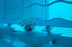 If It's Hip, It's Here: Glow In The Dark Mosaic Tiles By 5 Companies Make Light of Your Pool and Home.