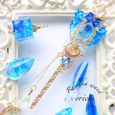 Kawaii Jewelry, Kawaii Accessories, Cute Jewelry, Diy Jewelry, Jewelry Accessories, Fashion Accessories, Fashion Jewelry, Resin Jewelry, Crystal Jewelry
