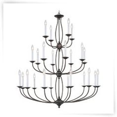 Livex Regato 4180 Chandelier - 42W in.