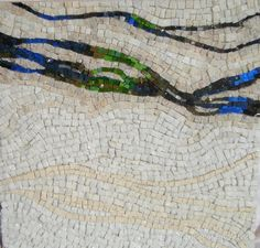 Chemical Spill by Valerie McGarry  ~  Maplestone Gallery ~ Contemporary Mosaic Art