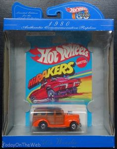 Hot Wheels 30th Anniversary '40's Woodie 1980 Authentic Commemorative Edition #HotWheels