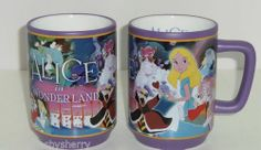 Disney Store Alice Wonderland Movie Moments Ceramic Coffee Mug Cup NEW