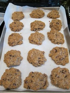 Wheat Belly Gluten-Free Chocolate Chip Cookies--- made them and I love them! I love the nutty flavor of the dough mixed with the richness of the super dark chocolate chips. Definitely recommend this recipe!