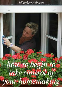 I do want to take control of my homemaking!  I love this simple but important way to get started!