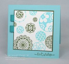 CAS43 Circle Circus makeover by Melissa_Aggie - Cards and Paper Crafts at Splitcoaststampers