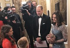 Duke and Duchess of Cambridge attended Royal Variety Performance amid security alert