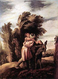 Charles Fonseca: Parábola do bom samaritano. Domenico Fetti.