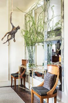 Lucy Bucknall - Monkey with i-pod Monkey, Oversized Mirror, Inspire, Inspiration, Furniture, Home Decor, Biblical Inspiration, Jumpsuit, Decoration Home