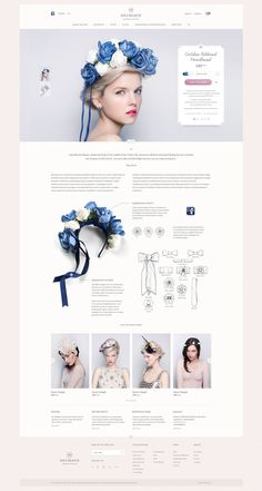 DECOLOVE Atelier. Online Store on Behance