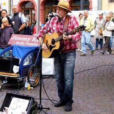 Reportagen in und um Erfurt http://frank-c-mey.com/kraemerbrueckenfest Jimmi Kelly - Willkommen zum Krämerbrückenfest