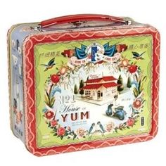 Miso Pretty No. 1 Tin RETRO Lunch Box Carry Case -...