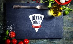 Pizza-Pizza Complete Restaurant Branding and Logo Design