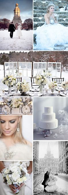 I'm going to have a winter wedding. =)