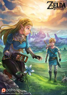 「Zelda:BOW」/「ZEN」のイラスト [pixiv]