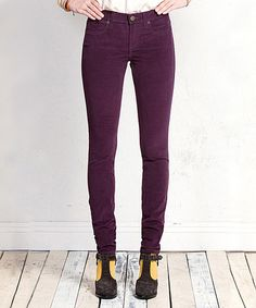 Look what I found on #zulily! Port Corduroy Skinny Jeans - Women by Henry & Belle #zulilyfinds