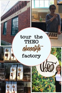 Chocoholic? Tour the Theo Chocolate Factory - My Moments and Memories Sweet 16 Decorations, Quince Decorations, Candy Centerpieces, Wedding Reception Centerpieces, Chocolate Tree, Chocolate Lovers, The Factory Shop, Quince Cakes, Best Travel Guides