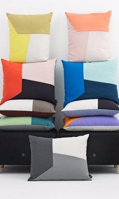 Angle cushions by Normann Copenhagen.