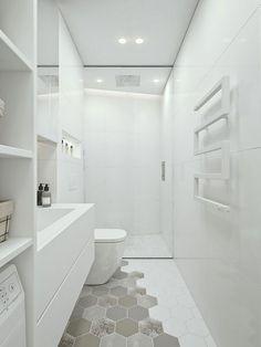 Bagno bianco moderno 06